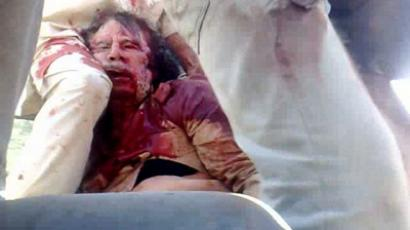 No mercy in death: Gaddafi's remains on show