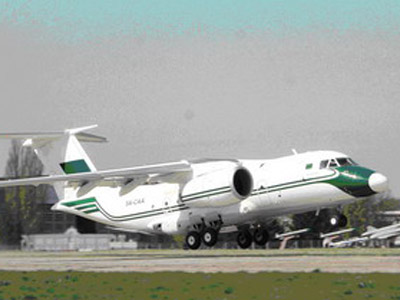 Libya and Ukraine haggle over Gaddafi's $25 mln. dream plane, prisoners