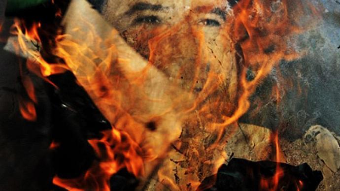 Signs Gaddafi regime crumbling