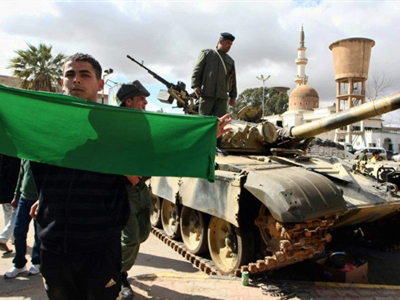 Gaddafi rejects rebel calls for ceasefire