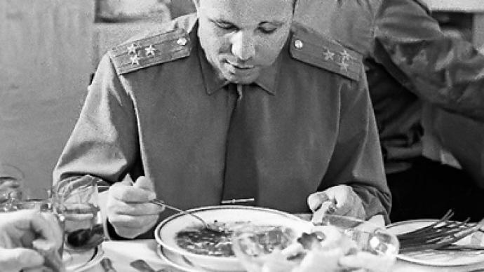 """Gagarin looked just like everyone else"""
