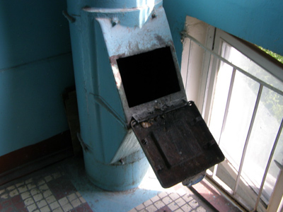 Leap of faith: Girl jumps into garbage chute to retrieve makeup