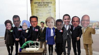 One-sided story: Greece hijacks G20 summit