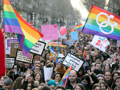 British MPs vote to legalize gay marriage in England, Wales