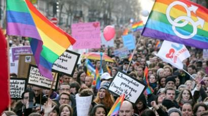 France's lower house approves bill allowing gay marriages, adoptions