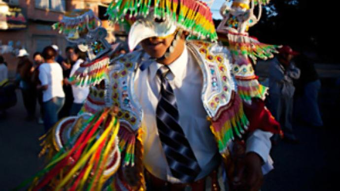 Gay Pride hits heights of Bolivia