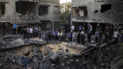 Russian FM calls for Israel-Hamas ceasefire following attacks on Gaza media center