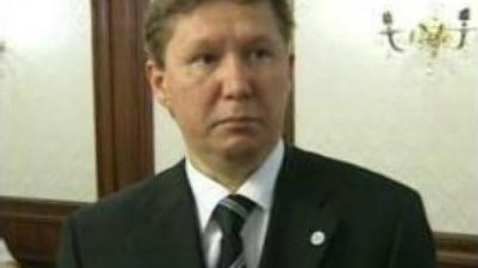 Gazprom head to miss St. Petersburg economic forum