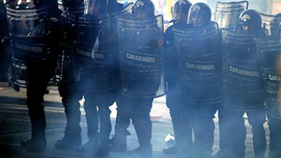Thousands of Spanish police officers march against austerity (PHOTOS)