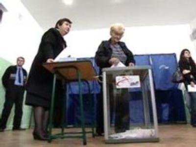 Georgia exit polls point to election winner