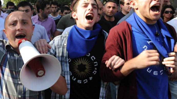 Georgia jail shock: Rape by rubber batons amid 'EU-quality prison' sham