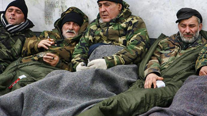 Georgian veterans fighting govt amnesia