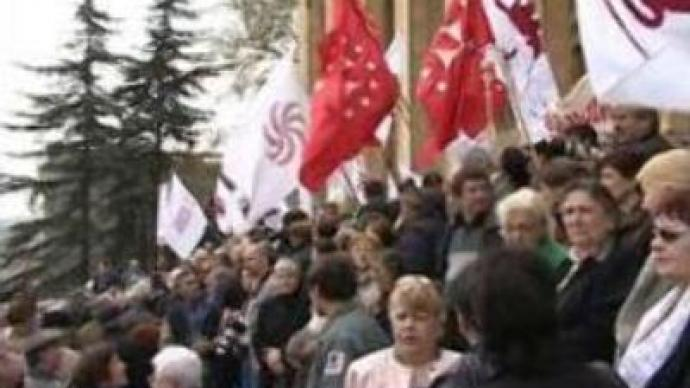 Georgians protest price hikes and taxes