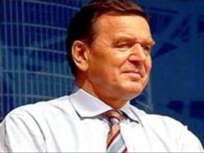 Gerhard Schroeder comments on Nordstream project
