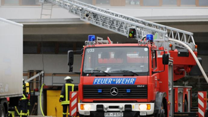 14 people die in fire at German workshop for disabled people (PHOTOS)