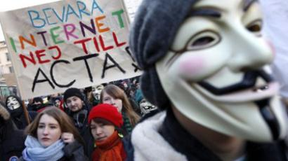 Anti-ACTA day: Angry crowds take action (PHOTOS)