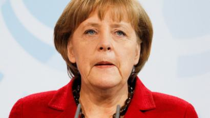 Geography gone bad: Merkel moves Berlin to Russia (VIDEO)