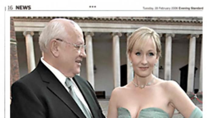 Gorbachev and Rowling invited to work at Russian billionaire's newspaper