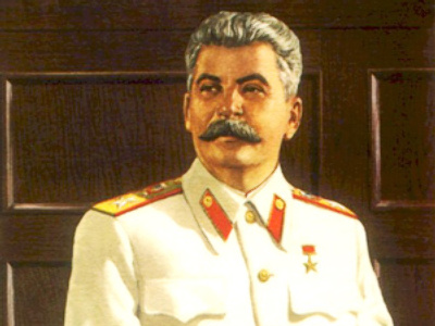 "Grandson defends Stalin's ""good name"""