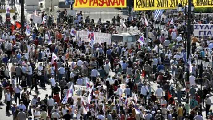 Greeks declare war on austerity cuts