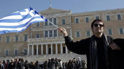 The path o' non-resistance: Greece gets new lifeline