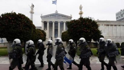 Greek leader urges lawmakers to pass austerity bill