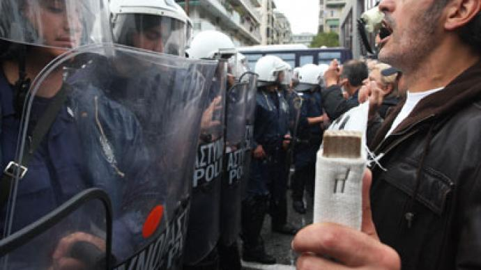 Greek peril: Another journalist arrested amidst free speech protests