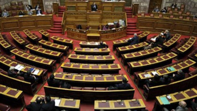Greek Parliament approves fresh cutbacks worth over €3 billion