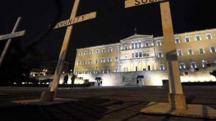 Greek suicide epidemic continues: Debt-strapped pensioner hangs himself