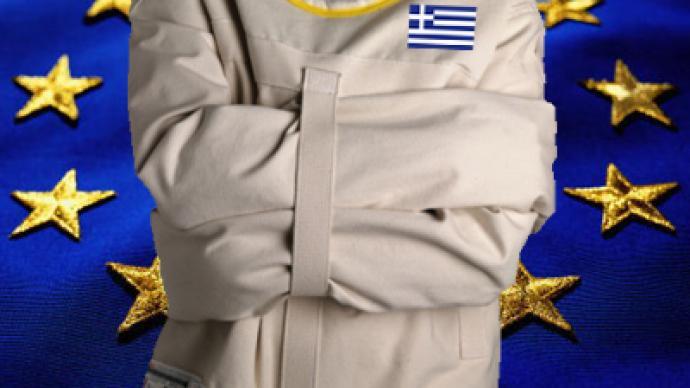Greece struggles in straitjacket of eurozone
