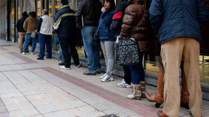 Greek jobless rate double that of Eurozone: Over 60% of young workers unemployed