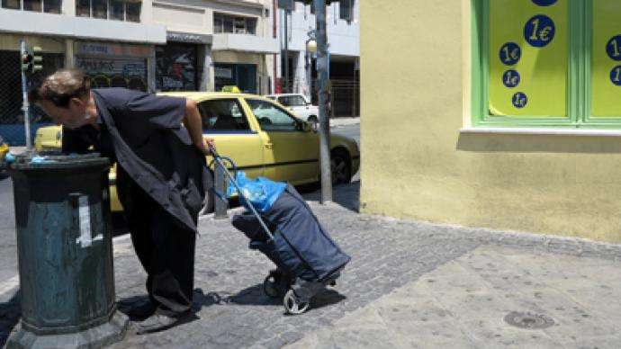 1 in 4 Greek workers unemployed as joblessness hits record 25.4%