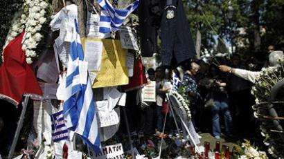 Seeds of hatred sprout in soil of Greek crisis