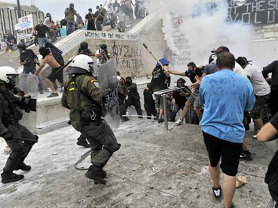 Greeks outraged by government's sellout for quick cash
