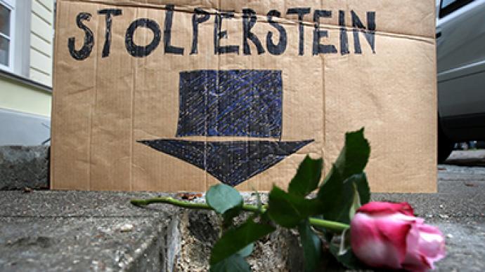 Memorial artwork in German town vandalized on Kristallnacht anniversary