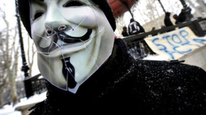 'Lay down your arms!' Anonymous attacks US tear-gas maker