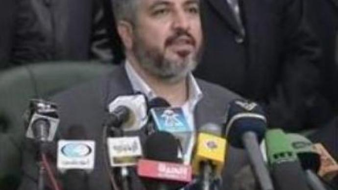 Hamas leader in exile acknowledges the existence of Israel