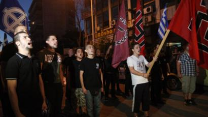 Rescue, nationalist style: Golden Dawn hands out food – to Greeks only