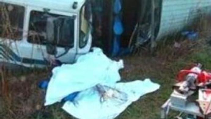 Health of 7 survivors of bus crash still alarming