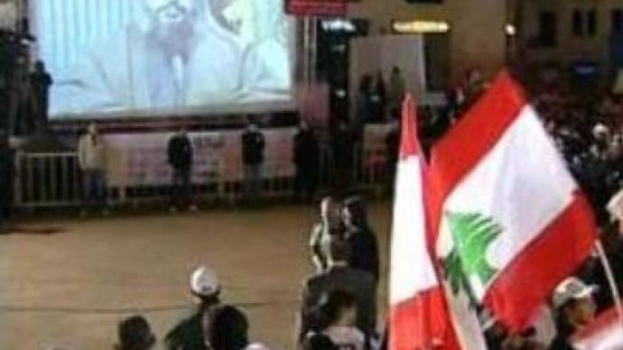 Hezbollah leader's speech stirs protesters against Lebanese PM