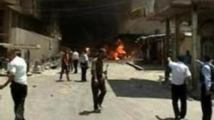 Hightened tension in battle for Baghdad