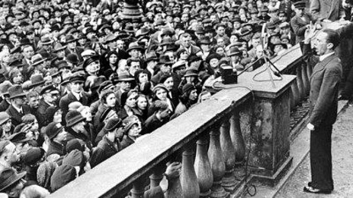 Moscow hails EU's reaction to Holocaust denial