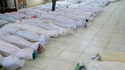 Echoes of massacre: Europe talks of Syria intervention