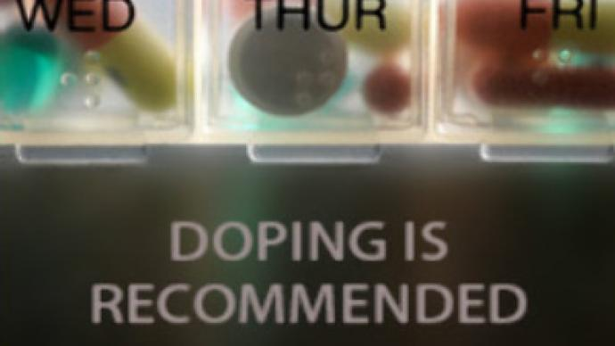 How to take dope in sport...