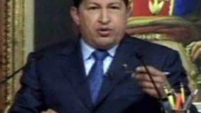 Hugo Chavez starts his new six-year term