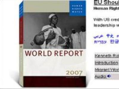 Human Rights Watch report targets leading countries