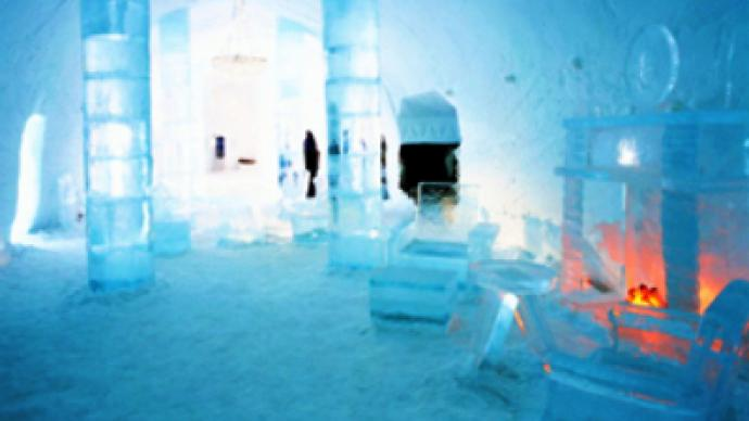 Russia opens its first ice hotel