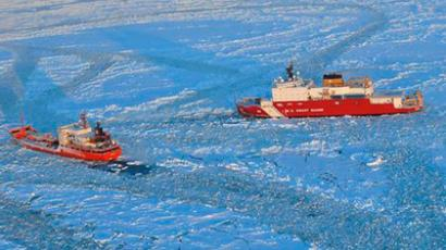 Russian tanker on mercy mission to ice-bound Alaskan town