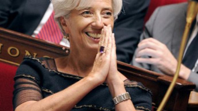 """""""IMF under Lagarde will not tackle global economic problems"""" - financial journalist"""
