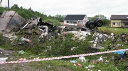 Tu-134 crash survivor reveals horror flight's details